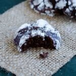 Double Chocolate Crinkle Cookies