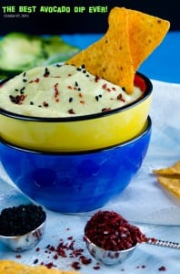 Creamy Avocado Dip with Lemon