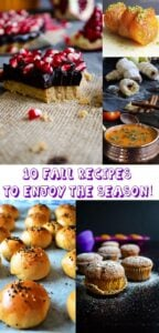10 Fall Recipes to Enjoy the Season