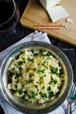 Pasta with Feta and Parsley | giverecipe.com | #pasta #feta