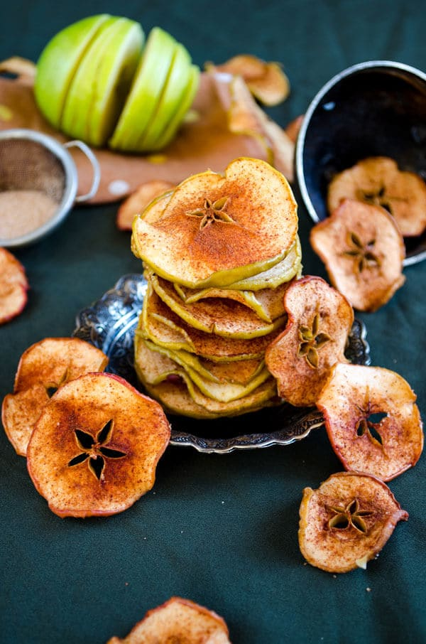 Cinnamon Sugar Apple Chips 2