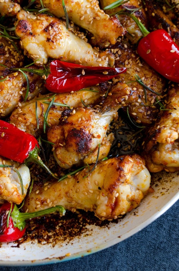 Honey Sesame Chicken Wings 2