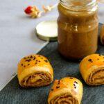 Poppy Seed Rolls | giverecipe.com | #poppyseed #pastry #snack