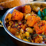 Pumpkin Stew with Lentils and Chickpeas thumbnail