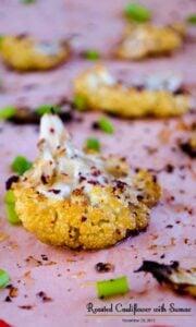 Roasted Cauliflower with Sumac
