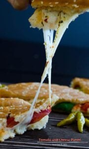 Tomato and Cheese Panini