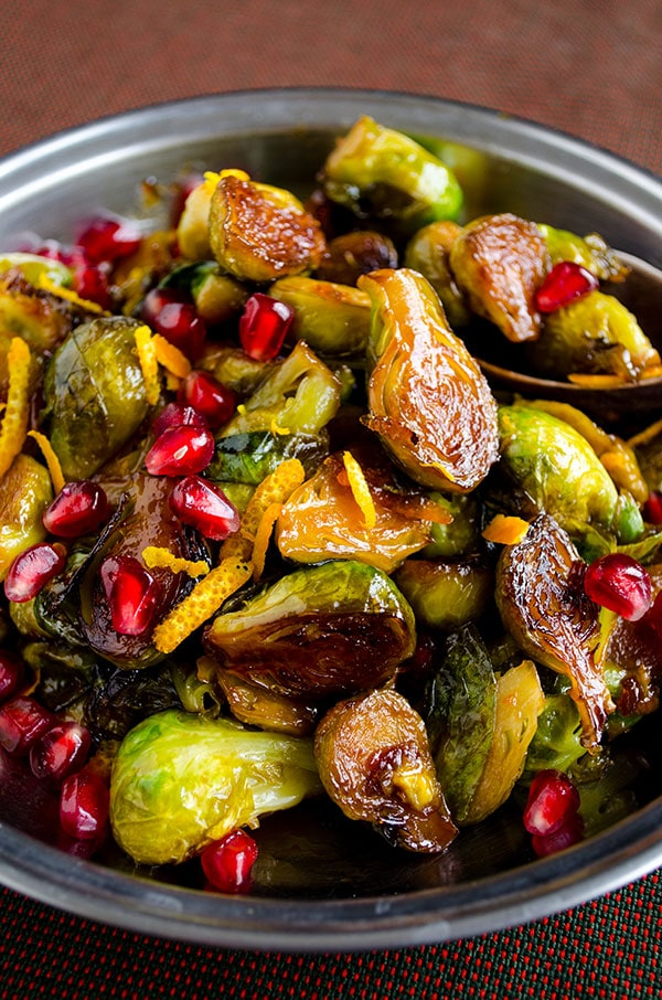 Citrus Caramelized Brussels Sprouts 2