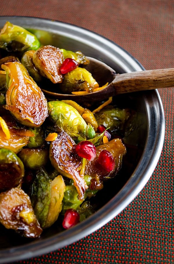 Citrus Caramelized Brussels Sprouts 3