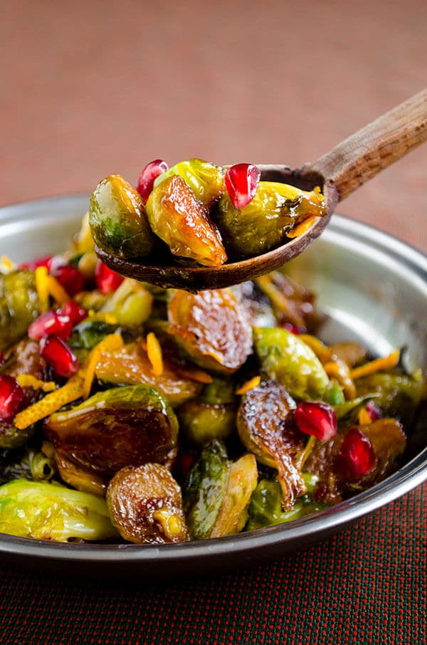 Citrus Caramelized Brussels Sprouts 4