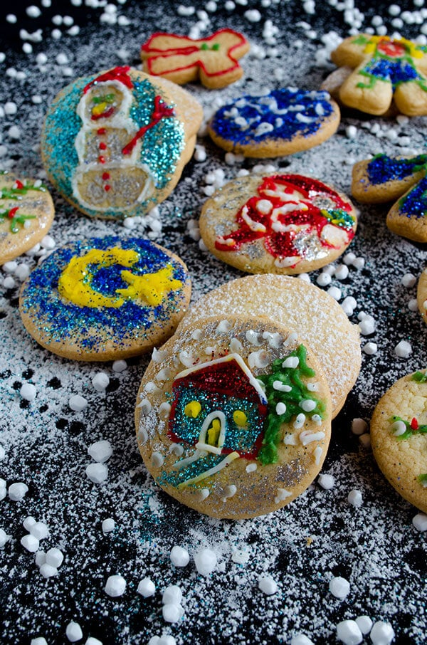 Decorated Ginger Cut Out Cookies 2