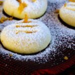 Orange Flour Cookies