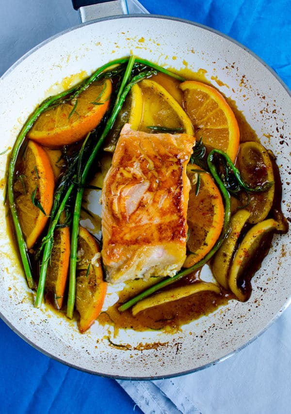 Stir Fry Salmon with Orange 2