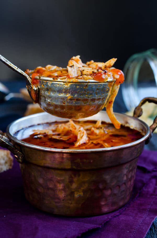 Tomato Chicken Orzo Soup 3