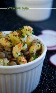 green lentil pasta | giverecipe.com | #pasta #vegetarian #lentils