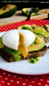 Egg and Avocado Toast