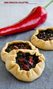Mini Spinach Galettes