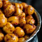 Spicy Crispy Roasted Chickpeas