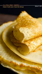 Very Thin Gluten-Free Crepes