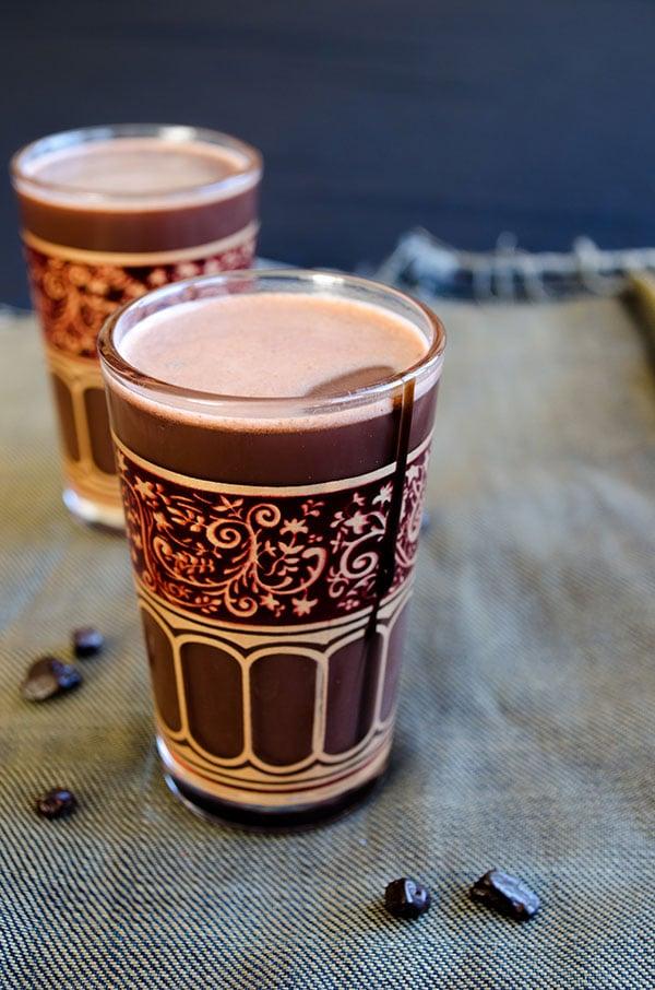 Basic Hot Chocolate | giverecipe.com| #chocolate #drink