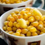 Buttered corn with chili | giverecipe.com | #corn #snack #appetizer