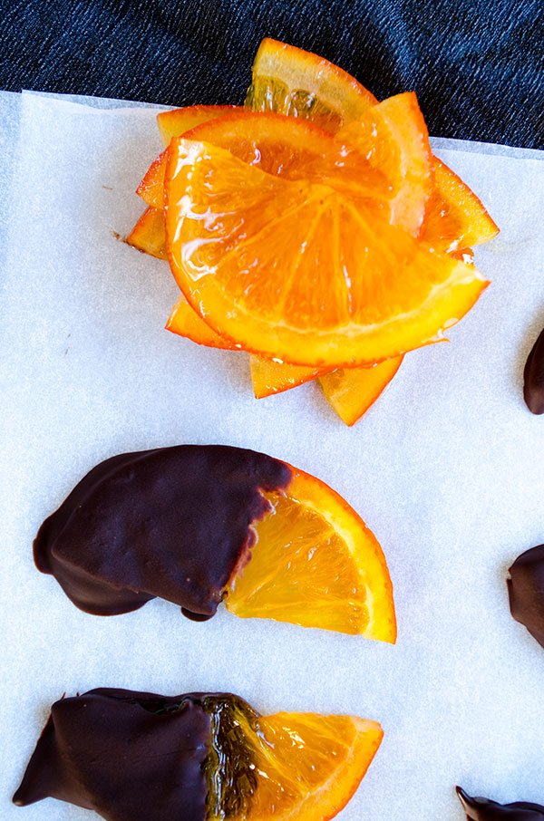 Chocolate Covered Orange | giverecipe.com | #orange #chocolate