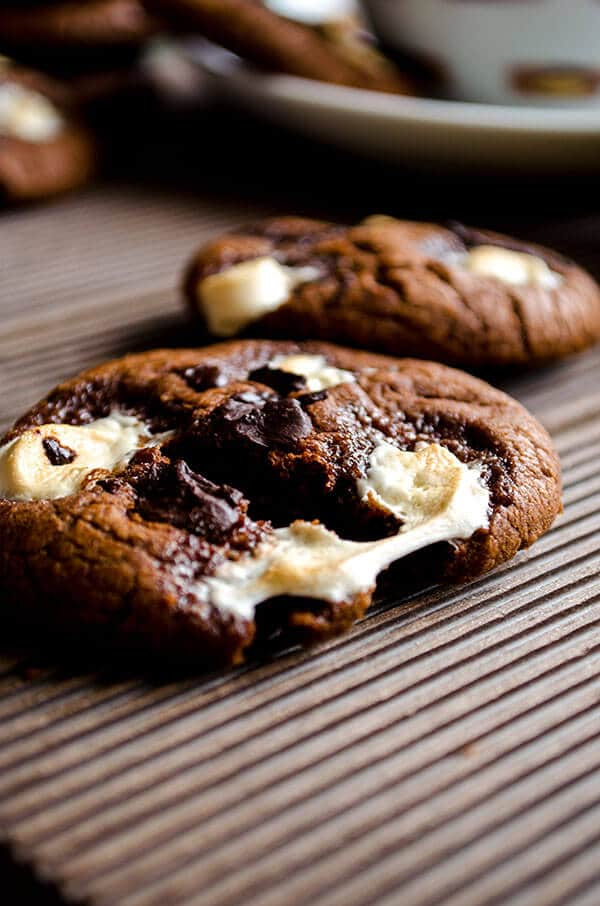 Marshmallow chocolate cookies 2
