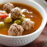 Pea soup with meatballs 1 150x150