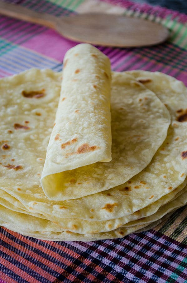 Basic Homemade Flour Tortillas 21