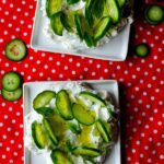 Cucumber Yogurt Feta Dip | giverecipe.com | #cucumber #yogurt #feta #dip #