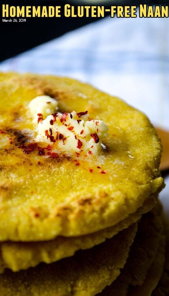 Homemade Gluten-free Naan