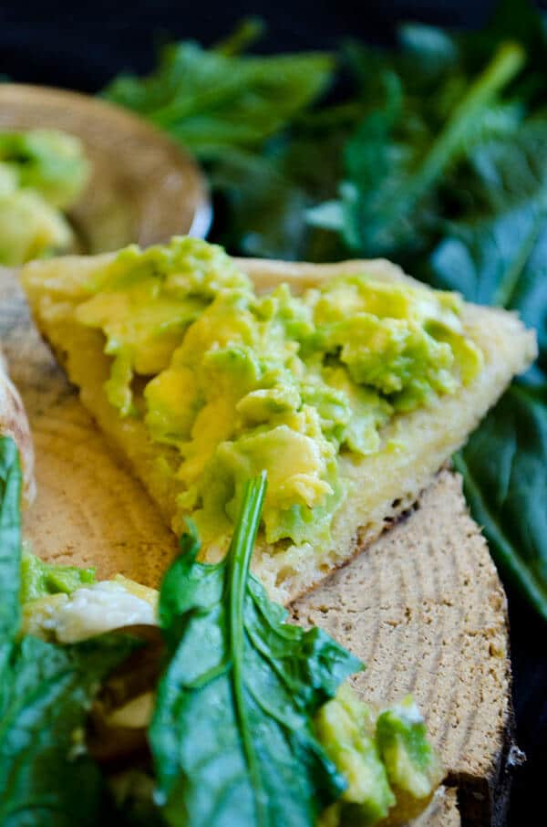 Spinach and Avocado Sandwich 2