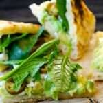 Spinach and avocado sandwich | giverecipe.com | #avocado #healthy #spinach #sandwich