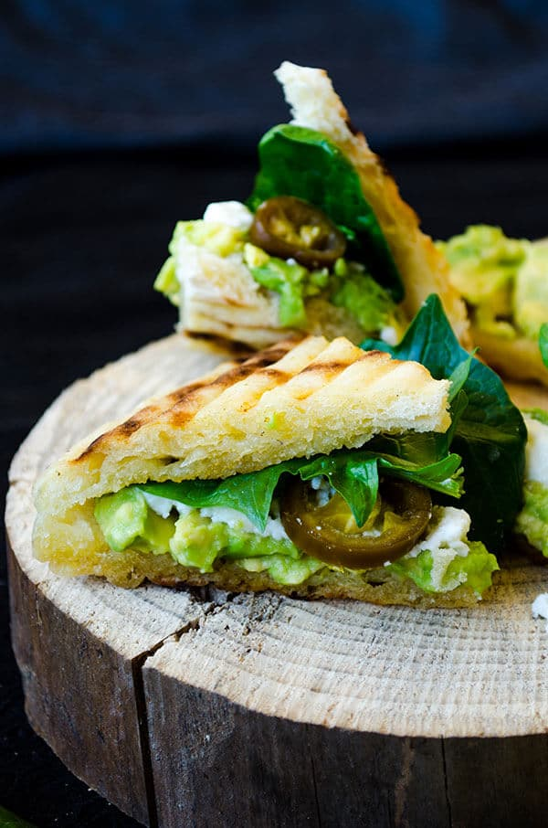 Spinach and Avocado Sandwich 5