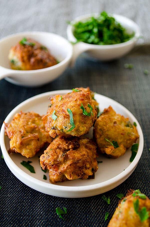 Fried Zucchini Balls | giverecipe.com | #zucchini #balls #vegetarian #meze #appetizer