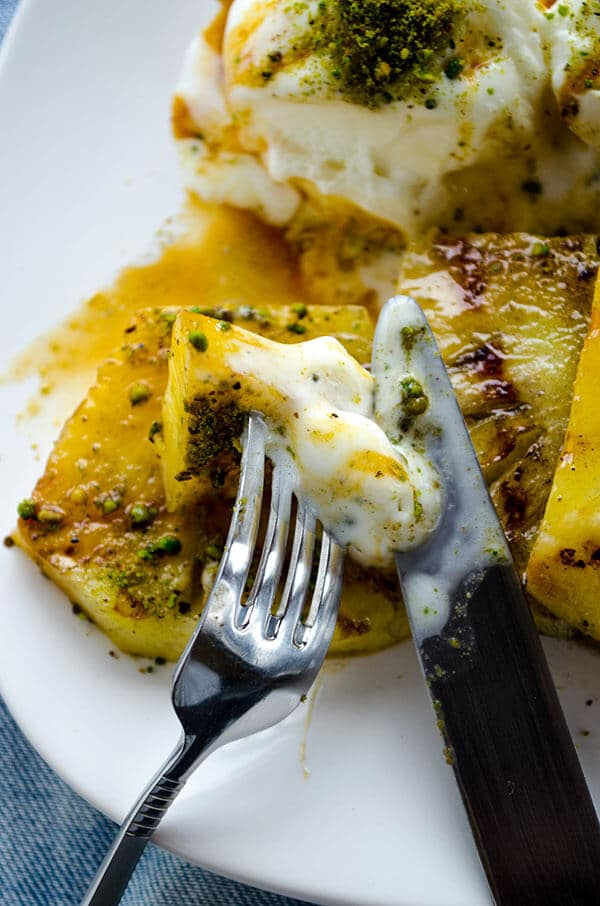 Grilled Pineapple with Ice Cream 5
