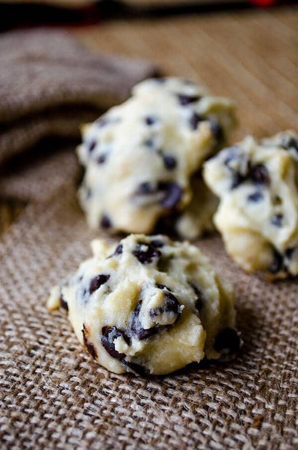 Chocolate Chip Yogurt Cookies   #cookies #chocolatechip #yogurt
