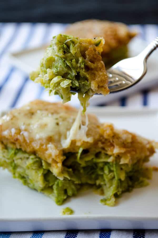 Skinny Zucchini Casserole | giverecipe.com | #zucchini #casserole #vegetarian #summer #skinny