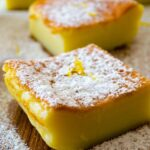 Zesty Magic Custard Cake