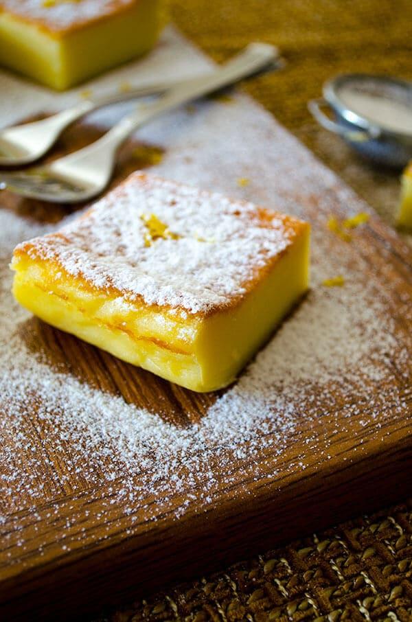 Zesty Custard Cake   giverecipe.com   #cake #custard #zesty
