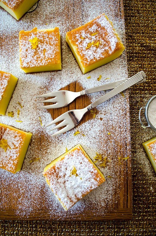 Zesty Custard Cake 4