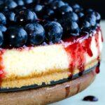 Blueberry Cheesecake Lighter Version