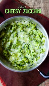 Easy Cheesy Zucchini| giverecipe.com | #zucchini #cheese #side #dip #vegetarian