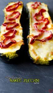 Vegetarian Baked Zucchini