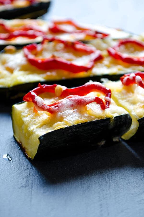 Vegetarian Baked Zucchini | giverecipe.com | #zucchini #vegetarian #summer #sidedish #healthy