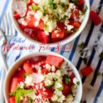 Chilled Watermelon Feta Salad 1 150x150