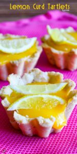 Lemon Curd Tartlets | giverecipe.com | #tartlets #lemon #citrus #baking #summerrecipes #lemoncurd