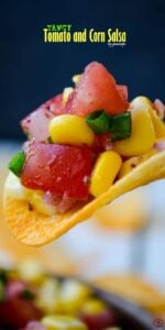 Tangy Tomato and Corn Salsa