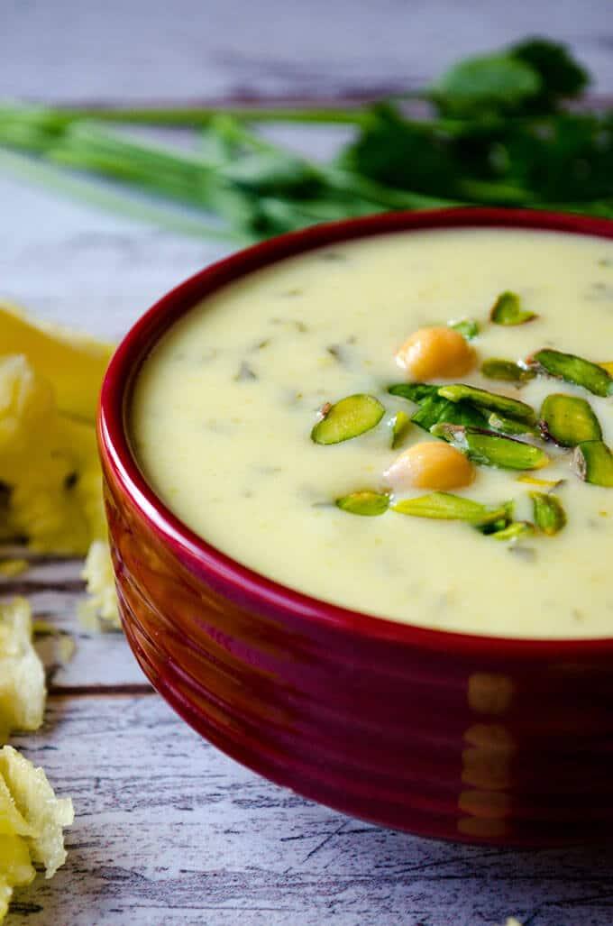 Creamy Zucchini Soup | giverecipe.com | #soup #zucchini #creamysoup # ...