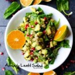 Green Lentil Salad With Avocado