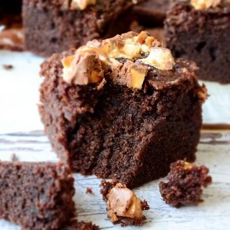 Fudgy Gluten Free Brownies | giverecipe.com | #brownies